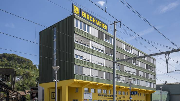 Die Fassade der Birchmeier Gruppe.