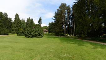 Riehen will das «grosse grüne Dorf» bleiben. Im Bild der Wenkenpark. (Archiv)