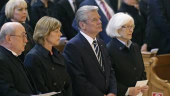 Joachim Gauck während des Gottesdienstes im Berliner Dom