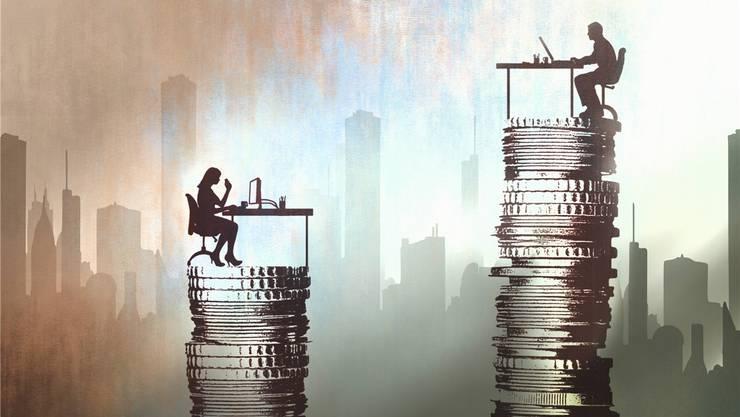 Nach wie vor gibt es einen unerklärbaren Lohnunterschied zwischen Männern und Frauen.