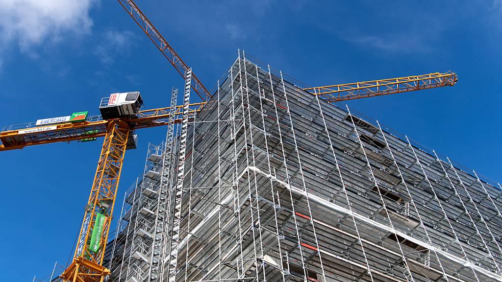 Deutsche Baubranche mit Auftragsrekord