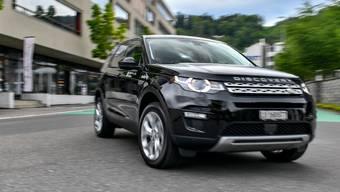 Mobility schickt Luxus-Offroader wie den Landrover Discovery zurück in die Garage.
