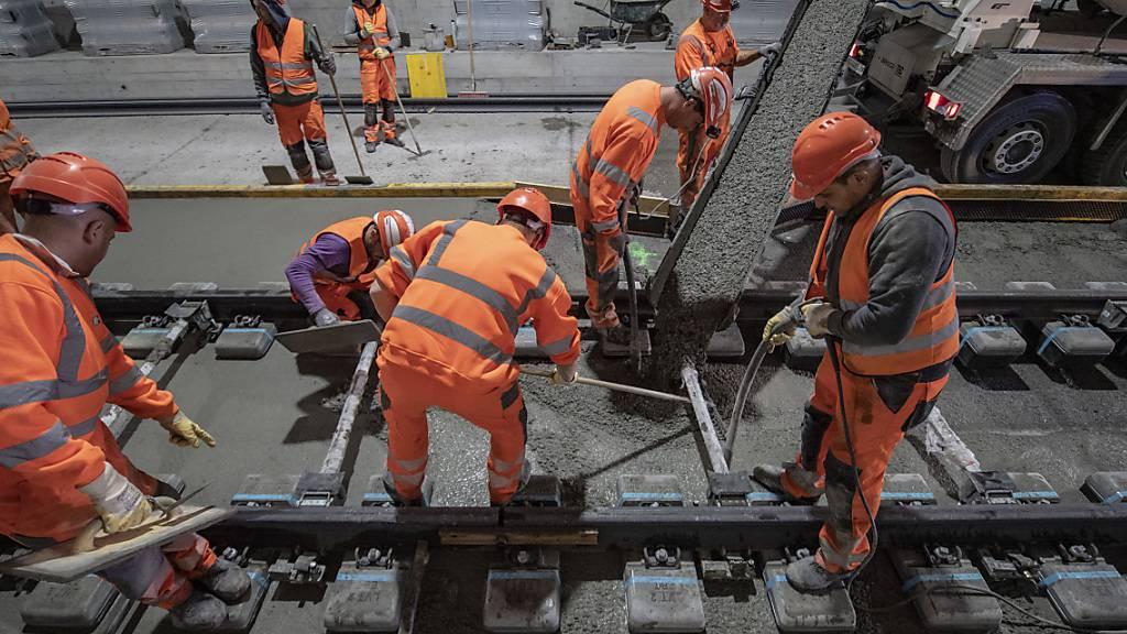 Gewerkschaft Unia sorgt sich um Gesundheit von Bauarbeitern
