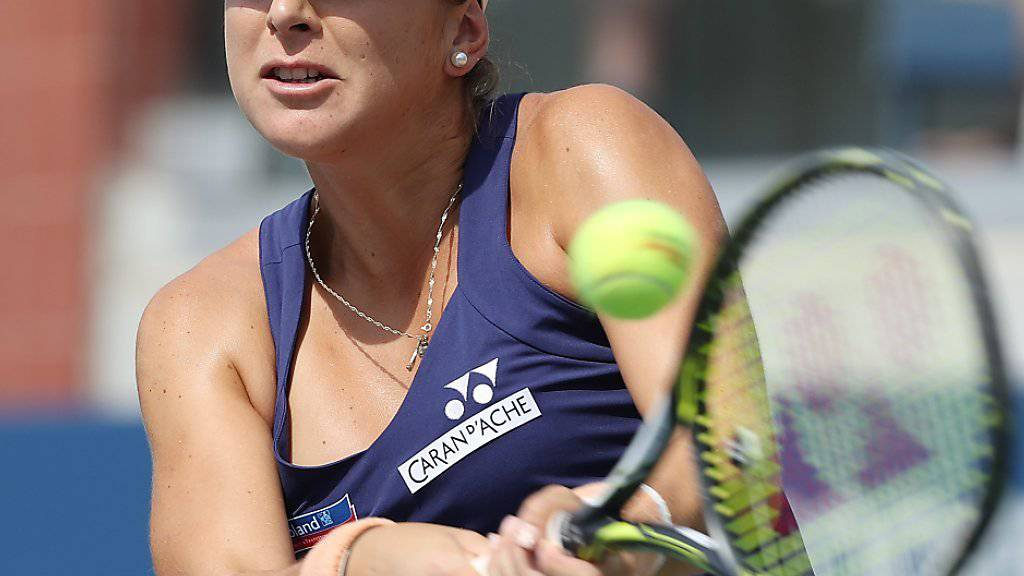 Belinda Bencic ist beim ITF Turnier von  Croissy-Beaubourg auf der Suche nach ihrer alten Form (Archivbild)