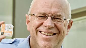 Der 58-jährige Schweizer Chemiker Andreas Manz wird vom Europäischen Patentamt mit dem Erfinderpreis 2015 geehrt (Bild: Europäisches Patentamt)