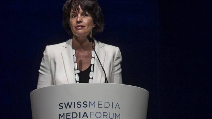 Bundesrätin Doris Leuthard: «Die Zeitungen ordnen oft nicht ein.»