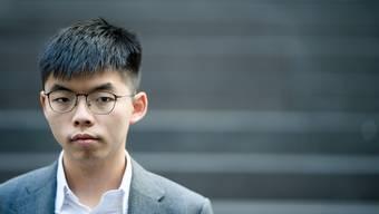 Joshua Wong (22) sieht Parallelen zwischen der Situation in Berlin vor 30 Jahren und im Hongkong von heute.