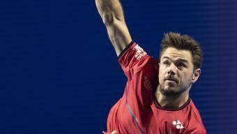 Alles im Griff zum Auftakt der Swiss Indoors: Stan Wawrinka
