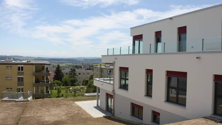 Neue Wohnungen an bester Lage an der Allmendstrasse. Die Leerwohnungsziffer blieb bisher erstaunlich stabil.