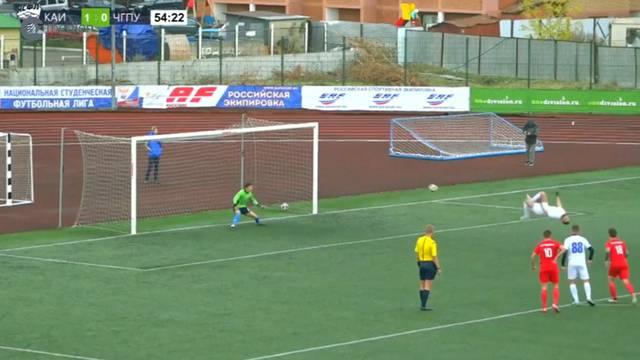 Russe dreht beim Penalty durch