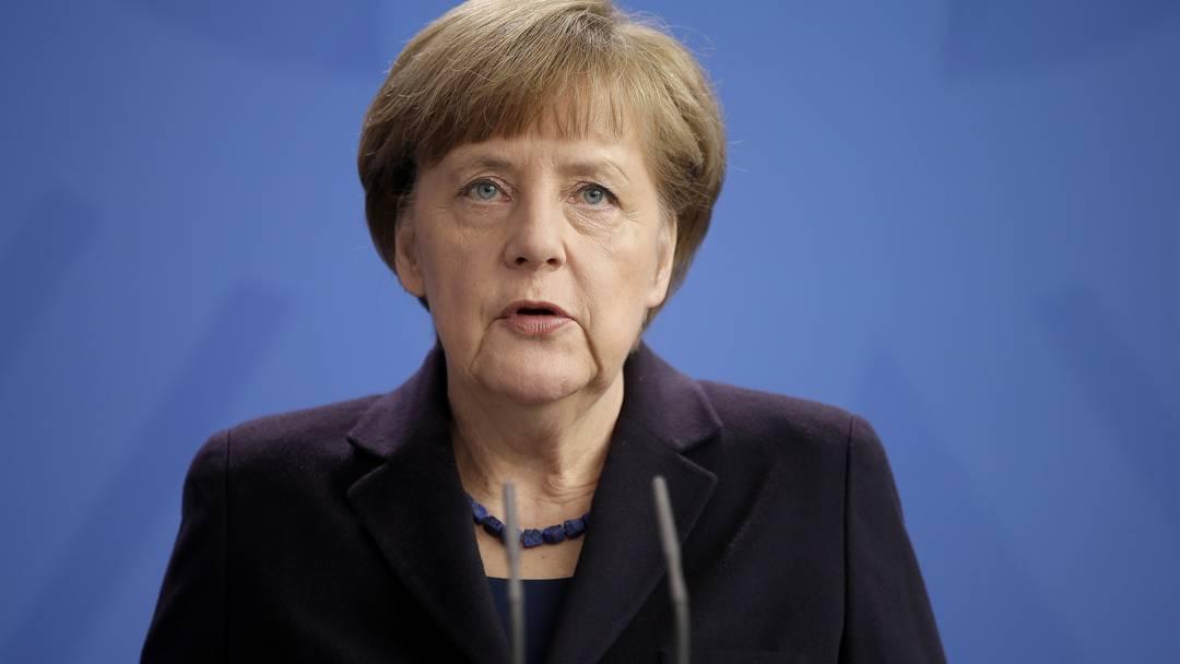 «Ein Schock»: Die deutsche Bundeskanzlerin Angela Merkel zum Absturz der Germanwings-Maschine in Frankreich.