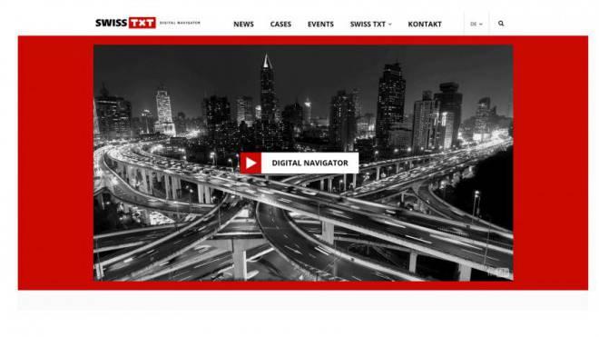 SwissTXT betreibt das aussterbende Medium Teletext und bekundet Mühe, sich als multimediales Kompetenzzentrum der SRG zu profilieren. Foto: Screenshot