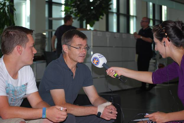 Mediencamp - Interviewtermin
