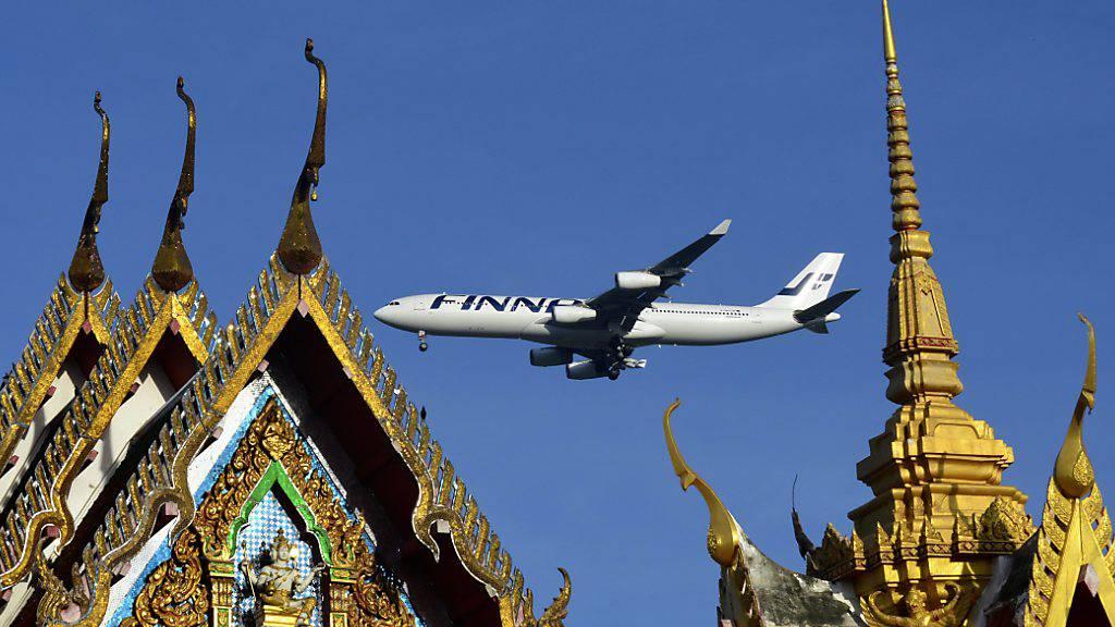Finnair muss wegen Corona abspecken und Stellen streichen. (Archivbild)