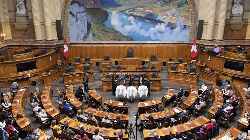 Am Wochenende haben 84 Frauen den Sprung ins Parlament geschafft, rund 30 Prozent mehr als 2015. (Archivbild)