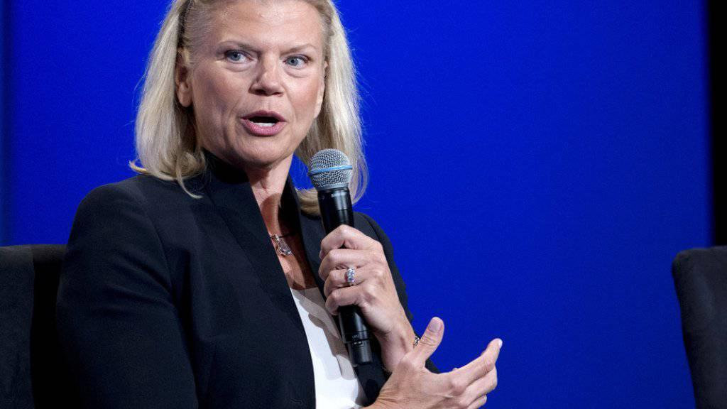 IBM-CEO Virginia Rometty verspricht den USA 25'000 neue Arbeitsplätze. (Archivbild)