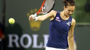 Die Rückhand von Viktorija Golubic funktionierte gegen Pironkova gut