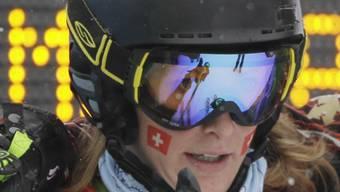 Fanny Smith erstmals Erste in einem Weltcup-Rennen