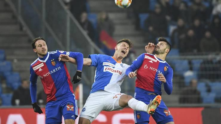 Der FCB müht sich 90 Minuten lang gegen das Schlusslicht GC ab, trotzdem kann die Mannschaft von Trainer Marcel Koller nicht wie erhofft drei Punkte einfahren.