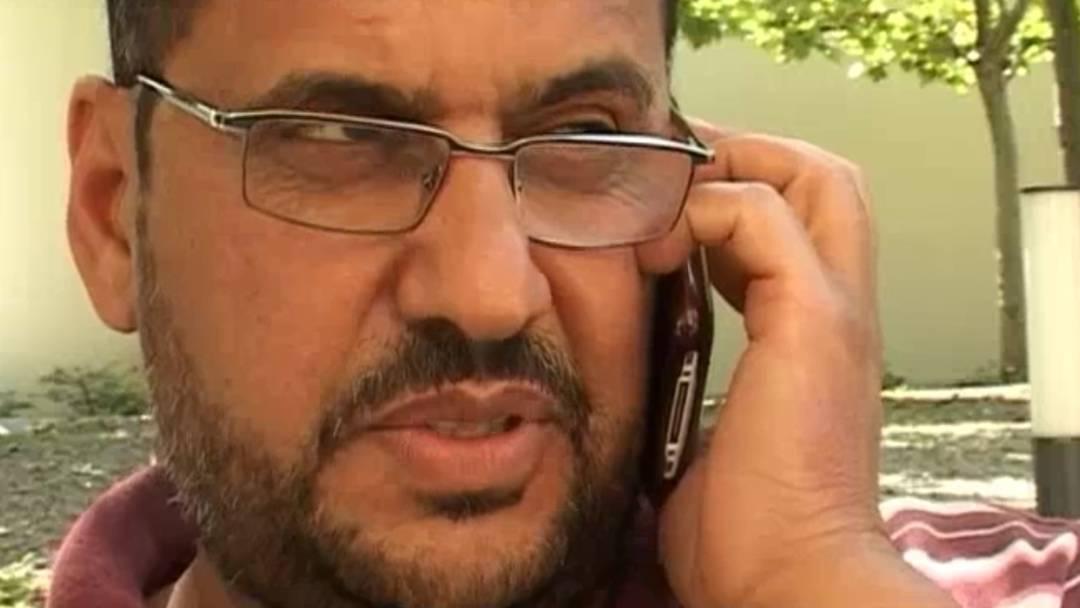 Exil-Libyer Giumma El Omami aus Olten freut sich über Umsturz