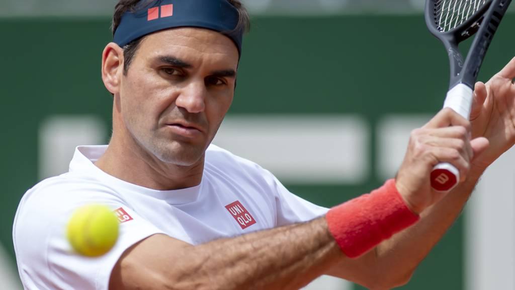 Roger Federer wird sich in Genf an das Sandplatzspiel herantasten