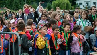 Jugendfest startete mit einem «Drumcircle» in den Tag
