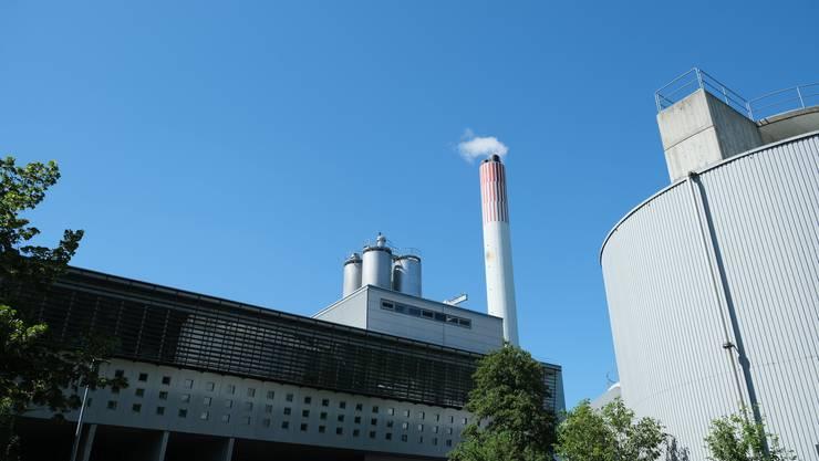 Die Kehrichtverwertungsanlage der Limeco in Dietikon.