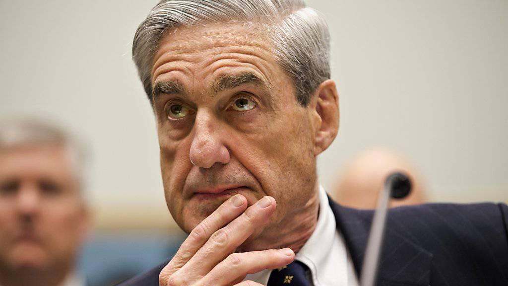 Der US-Sonderermittler Robert Mueller forderte am Samstag eine Strafe für den Ex-Wahlkampfchef von US-Präsident Donald Trump, Paul Manafort, die eine abschreckende Wirkung hat. (Archivbild)