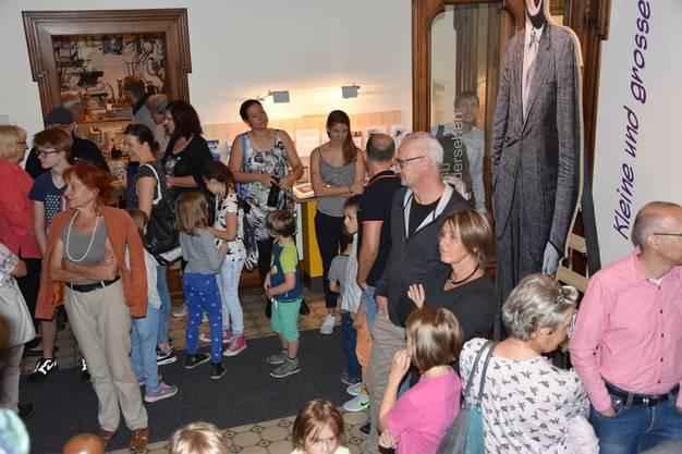 Im Kindermuseum Baden treffen sich «Klein» und «Gross».