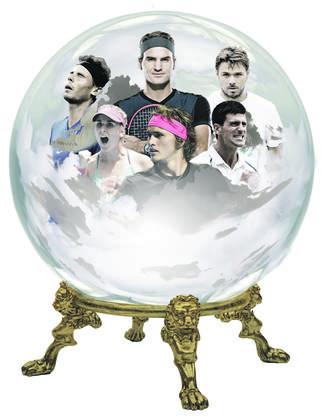 Die Glaskugel: Diese Tennis-Stars werden 2019 bewegen.