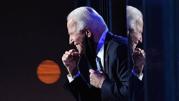 Joe Biden steht seit Samstag als neuer US-Präsident fest. Das freut nicht nur den 77-Jährigen, sondern auch die Anleger.