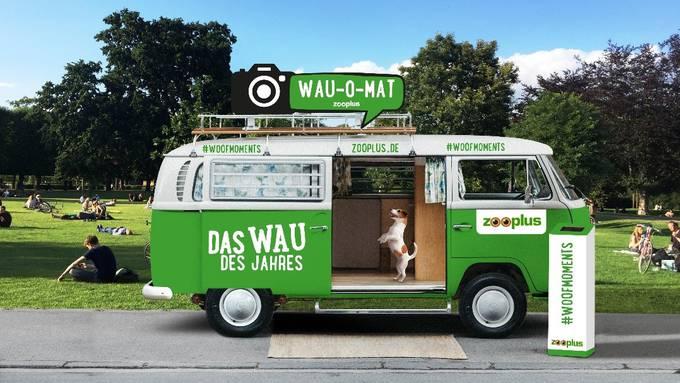 WAU-O-MAT: Die fahrende Fotobox für Hunde