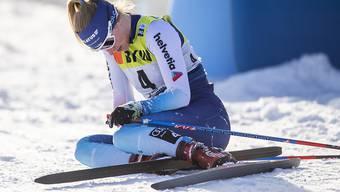 Konnte ihr Potenzial nicht wie gewünscht ausspielen: Nadine Fähndrich beim Weltcup in Davos