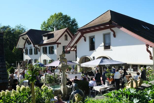 Die Preisverleihung im Bergdietiker Wiesental war gut besucht.