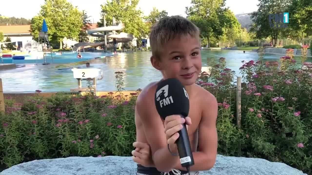 «Das ist unfair», sagt beispielsweise Sam aus Wattwil zu den «kurzen» Sommerferien.
