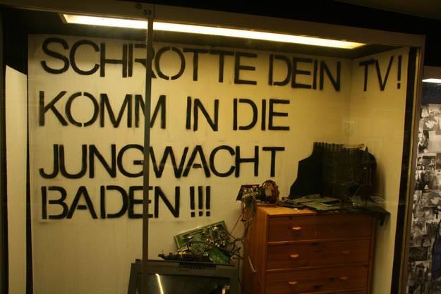 Eine Aufforderung, die Charme hat: Die Jungwacht Baden will Jugendliche gewinnen.