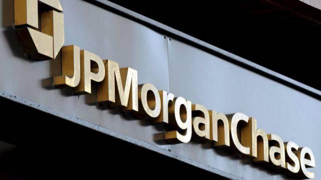 Eine Niederlassung von JP Morgan Chase in New York