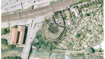 Visualisierung des geplanten Tierheims.