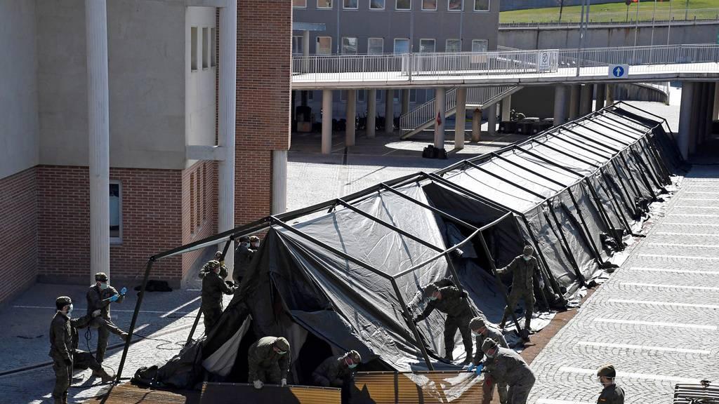 Auch Spanien ruft Militär zum Transport der Leichen