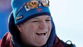 Reto Nydegger, Schweizer Trainer in Diensten der Norweger.