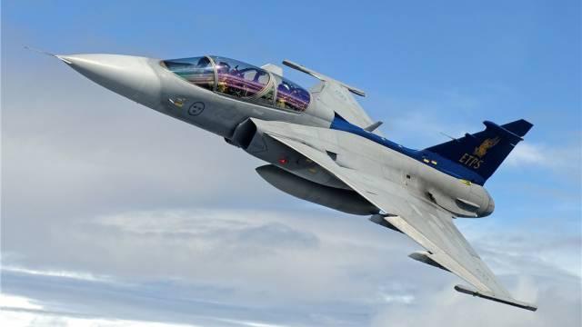 Der schwedische Kampfjet Gripen. Foto: Jamie Hunter