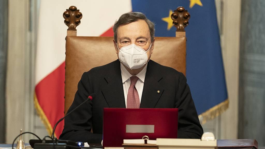 In Italien hat Ministerpräsident Draghi seine Arbeit aufgenommen