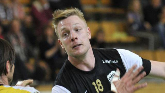 Julian Krieg erzielte acht Tore für Pfadi