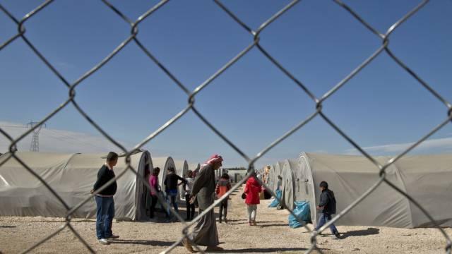 Syrische Flüchtlinge in einem Camp im Süden der Türkei (Archiv)