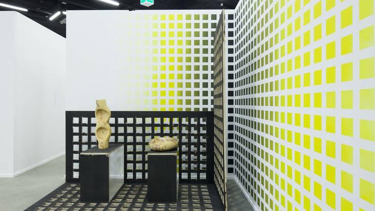 Installation der Künstlerin Claudia Comte.