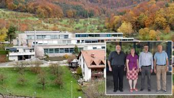 2014 traten sie noch gemeinsam auf: Christoph Knoll (3.v.l.) und Therese Dürrenberger (2.v.l.) sind sich heute nicht mehr mit Andreas Vögtli (rechts) einig.