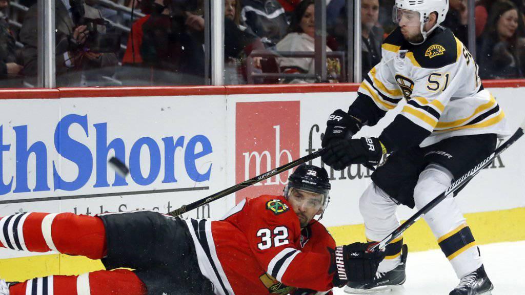 Trug über viele Jahre das Trikot der Boston Bruins: Lugano-Neuzuzug Ryan Spooner