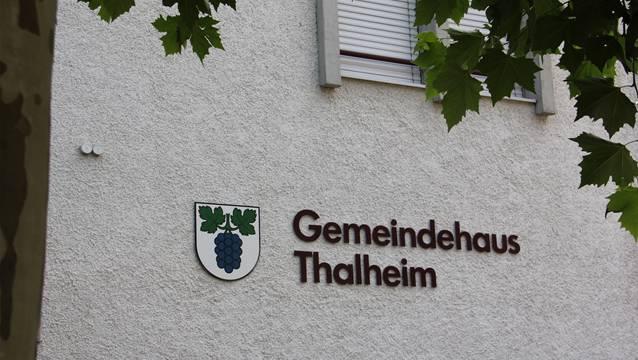 Im Gemeindehaus Thalheim veruntreute die ehemalige Finanzverwalterin Geld.