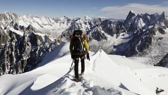 Vater und Sohn verunglücken tödlich im Mont-Blanc-Massiv (Symbolbild)