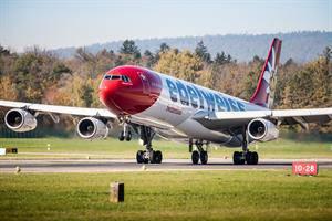 Edelweiss A340 (© Radio 24)
